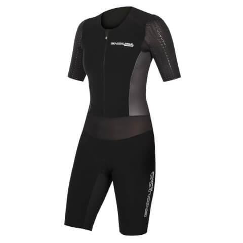 Wms QDC D2Z S/S Tri Suit II with SST - Black