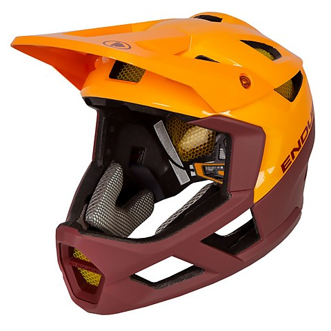 MT500 Full Face Helmet - Tangerine
