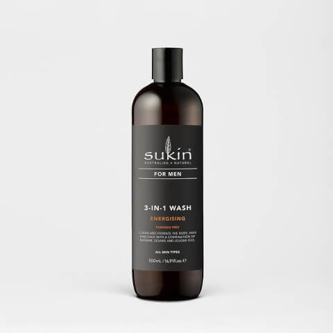 3-In-1 Energising Body Wash - For Men - 500ml