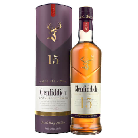 Glenfiddich 15 Year Old Single Malt Scotch Whisky 70cl