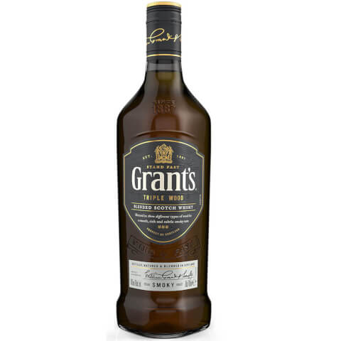 Grant's Triple Wood Smoky Blended Scotch Whisky 70cl