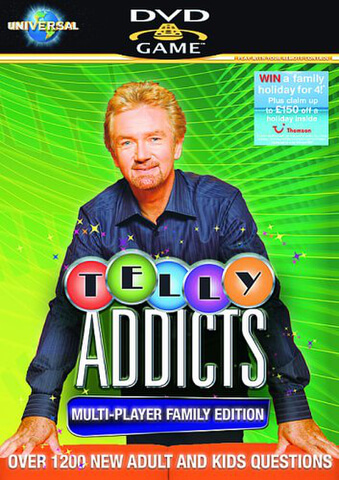 Telly Addicts 2 [DVD Game]