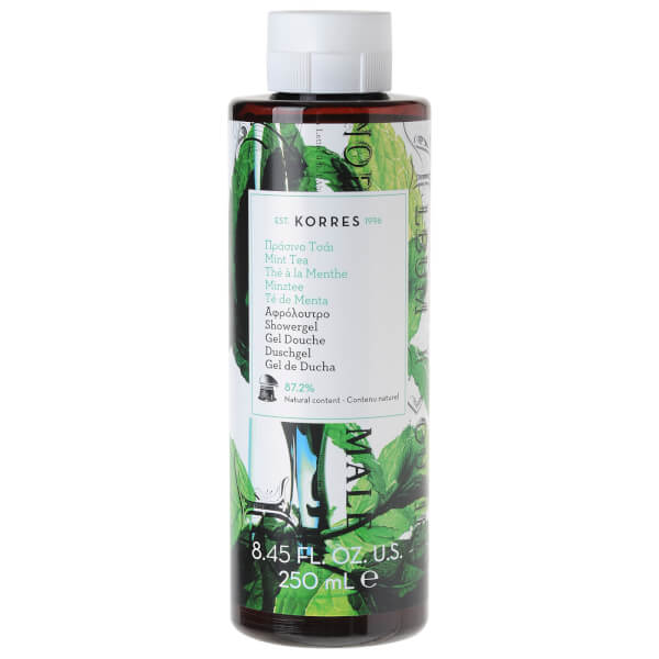 KORRES Mint Tea Shower Gel 250ml