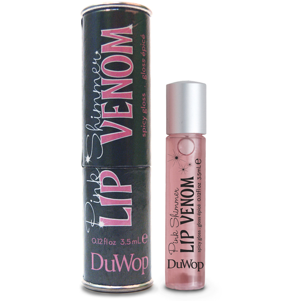 DuWop Lip Venom Shimmer - Light Pink 3.5ml