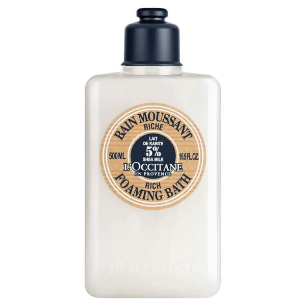 L'Occitane Shea Butter Ultra Rich Foaming Bath Cream 500ml