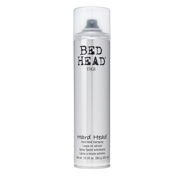 tigi bed head hard head hairspray 385ml image 1
