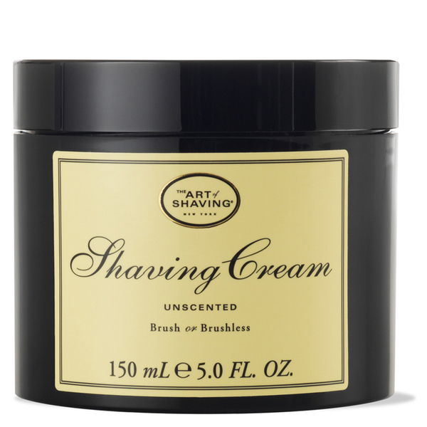 The Art of Shaving Shaving Cream Unscented 150g