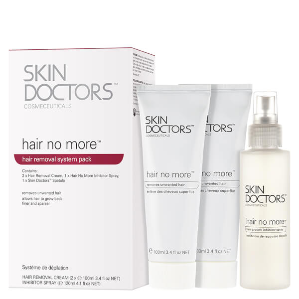 Skin Doctors Hair No More Hair Removal Pack (3 Products)