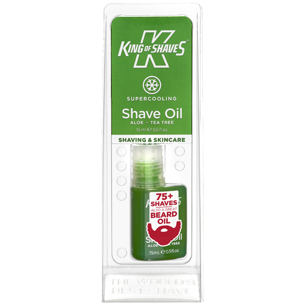 King of Shaves Alpha Shave Oil Cooling 15ml