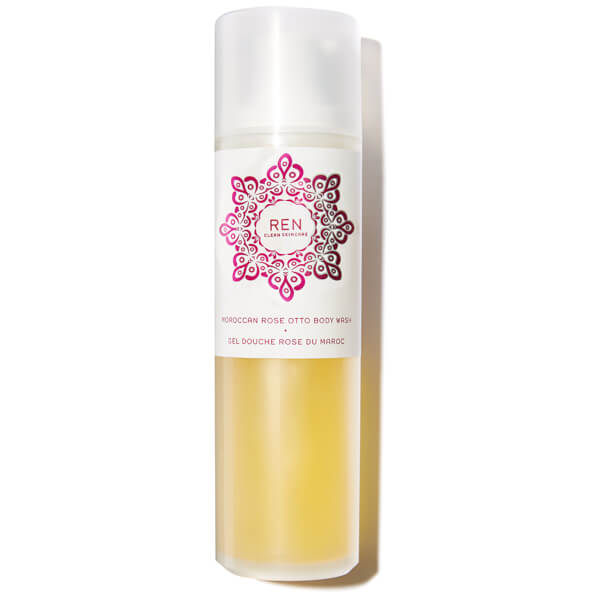 Gel de ducha rosa de Marruecos REN (200ml)