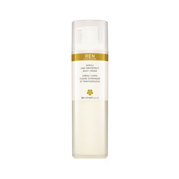 REN Body Cream med neroli og grapefrukt (200ml)