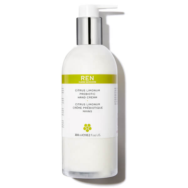 REN Citrus Limonum Prebiotic Hand Cream (300 ml)
