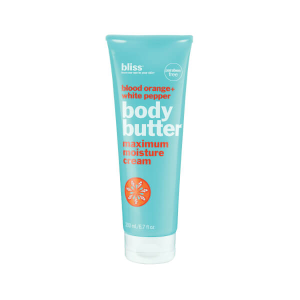bliss Body Butter - Blood Orange & White Pepper (200ml)