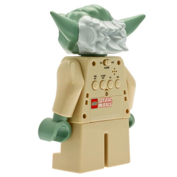 lego clone wars yoda mini figure clock image 4 - Lego Yoda