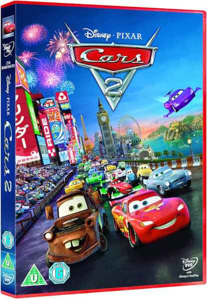 cars 2 dvd. Black Bedroom Furniture Sets. Home Design Ideas