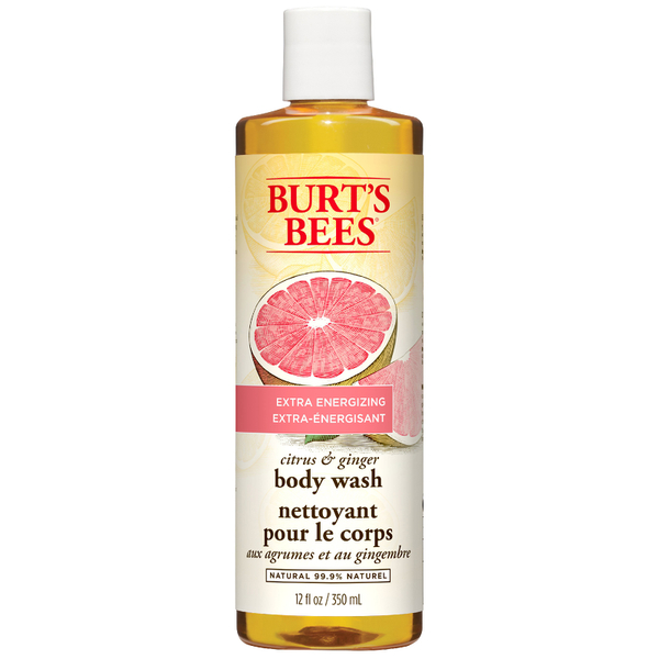 Gel de baño Citrus & Ginger Root Body Wash de Burt's Bees (350 ml)