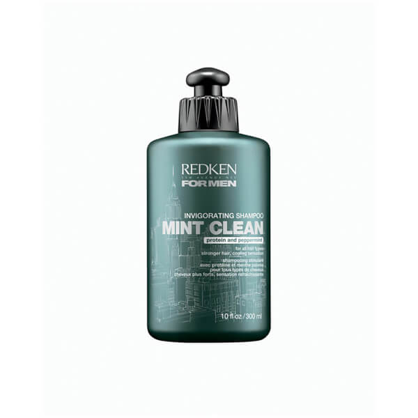 REDKEN FOR MEN MINT CLEAN INVIGORATING SHAMPOO (300ML)