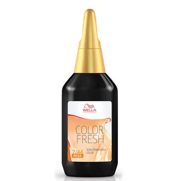 Wella Colour Fresh Medium Intense Red Blonde 7/44 75ml