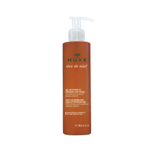 NUXE Reve De Miel Gel Nettoyant Visage - Facial Cleansing Gel (200 ml)