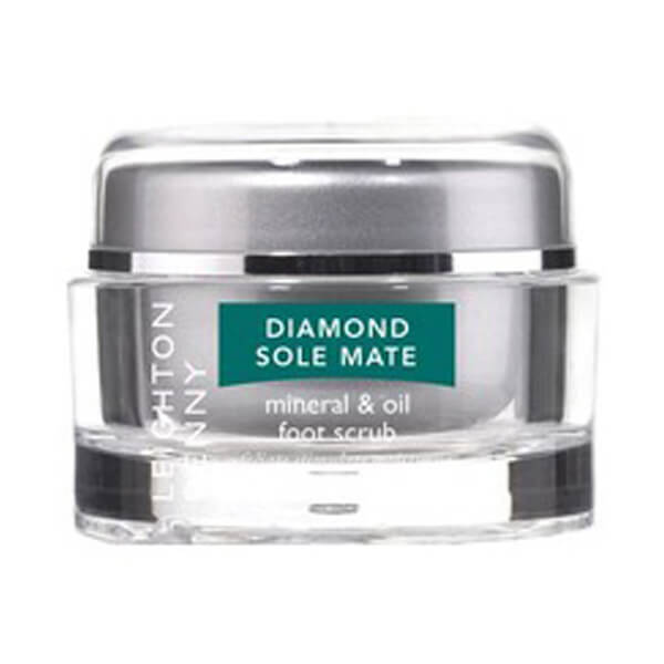 Exfoliant pour pieds Diamond Sole Mate de Leighton Denny (50g)