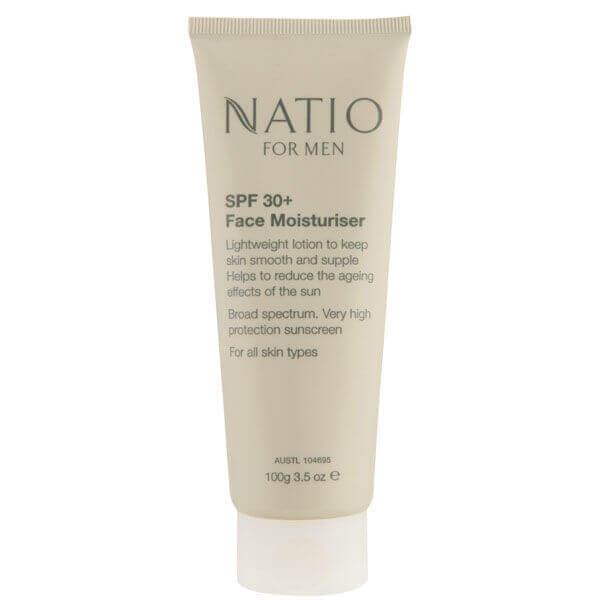 Natio For Men 30+ Face Moisturiser (100g)