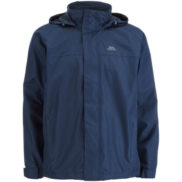 Trespass Men's Nabro Waterproof Jacket - Navy