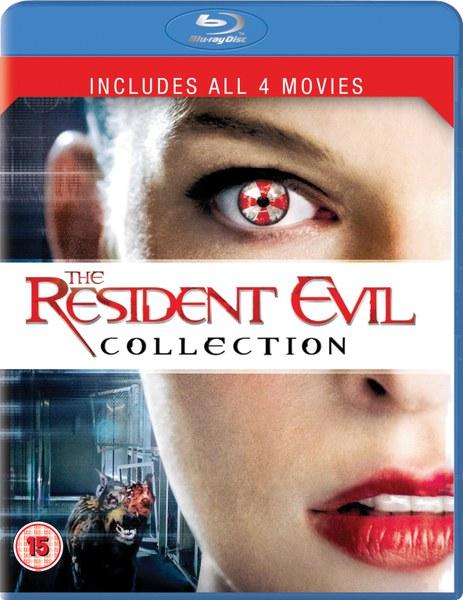 Coffret Resident Evil 1-4