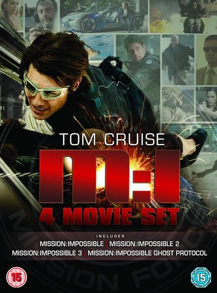 Mission Impossible 1-4 Box Set