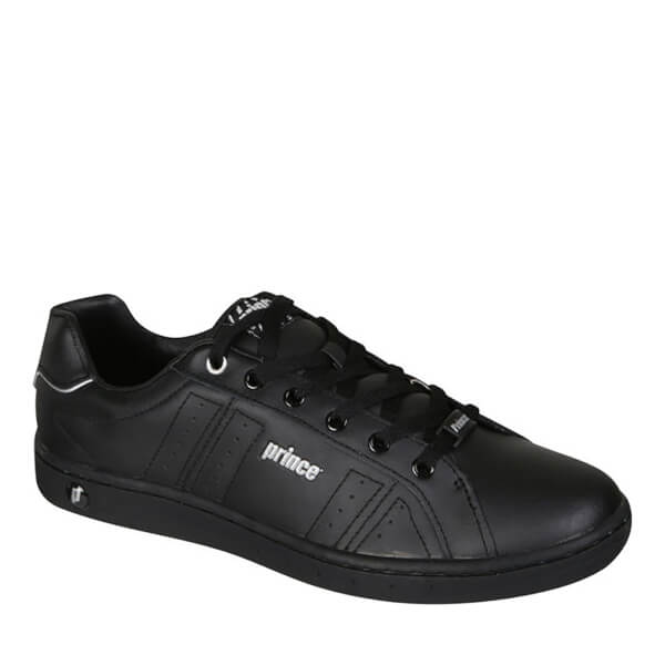Prince Men's Trainer - Black/Silver