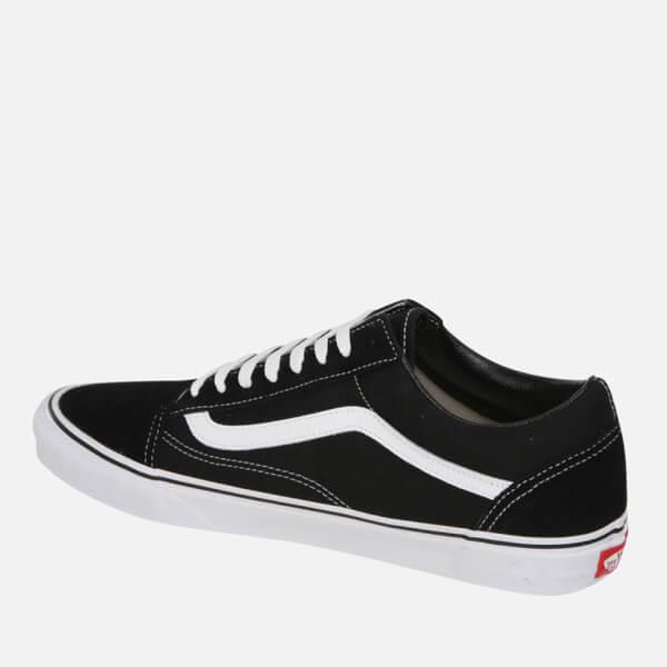 vans old skool negro black white