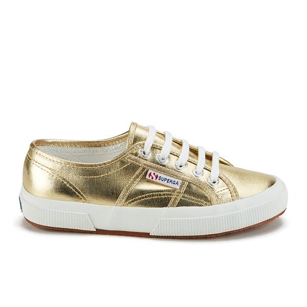 Superga Women's 2750 Cotmetu Trainers - Gold