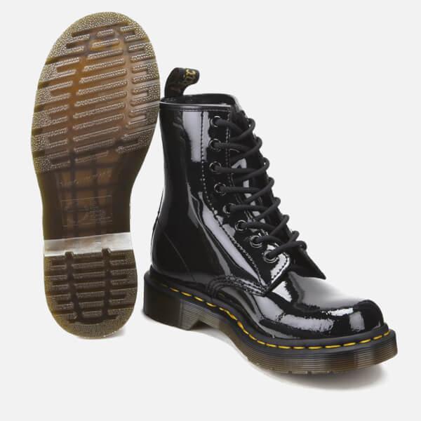 03afc9ea28b Dr. Martens Women s 1460 Patent Lamper 8-Eye Boots - Black Womens ...