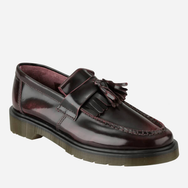c96a8099d9f Dr. Martens Men s Adrian Tassel Leather Loafers - Cherry Red  Image 2