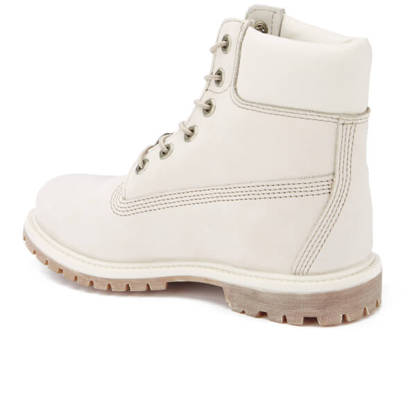 Timberland Women s 6 Inch Premium Boots - Winter White Waterbuck  Image 4 3bf093a20f