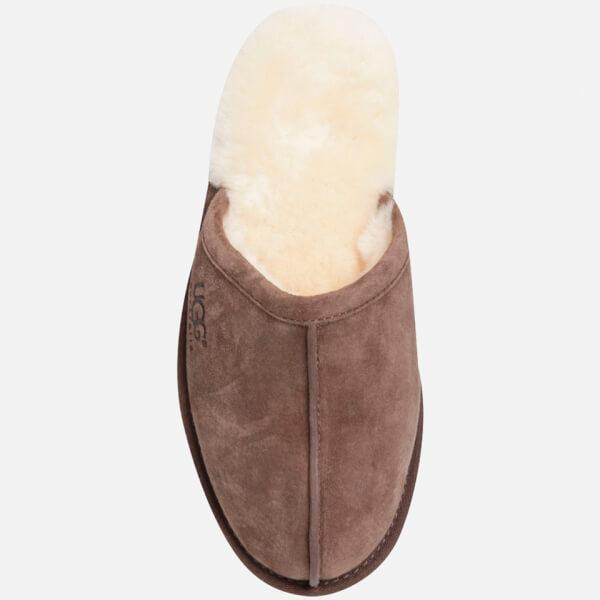976a317d309 UGG Men's Scuff Suede Sheepskin Slippers - Espresso