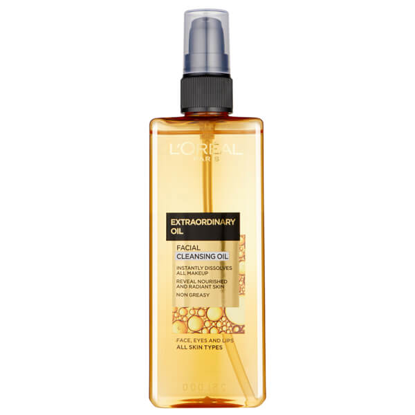 L'Oreal Paris Dermo Expertise Skin Perfection 15 Second Miracle Cleansing Oil - 适合所有皮肤类型 (150ml)