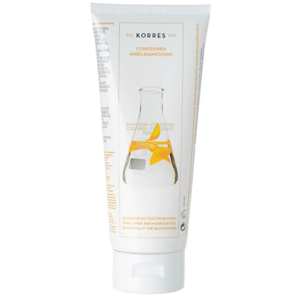 KORRES Conditioner Sunflower and Mountain Tea For Coloured Hair (200ml)