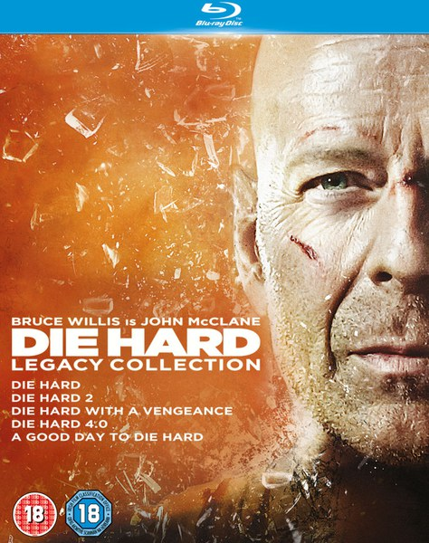 Die Hard 1-5 Legacy Collection (6 Discs)