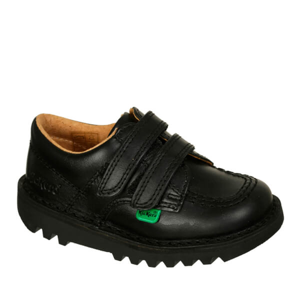 Unisex Kickers Black Black Kick Lo Toddler Japan And South Korea Style