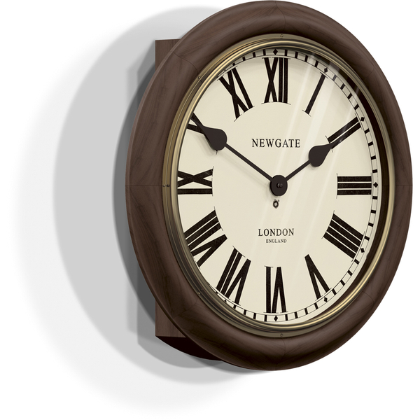 Newgate The Kings Cross Station Wall Clock Brown Free
