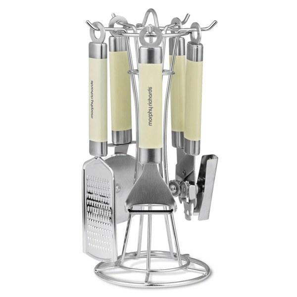 Morphy Richards 46812 4 Piece Gadget Set - Cream