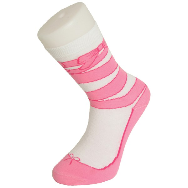 silly socks socken mit ballettschuhaufdruck sowia. Black Bedroom Furniture Sets. Home Design Ideas