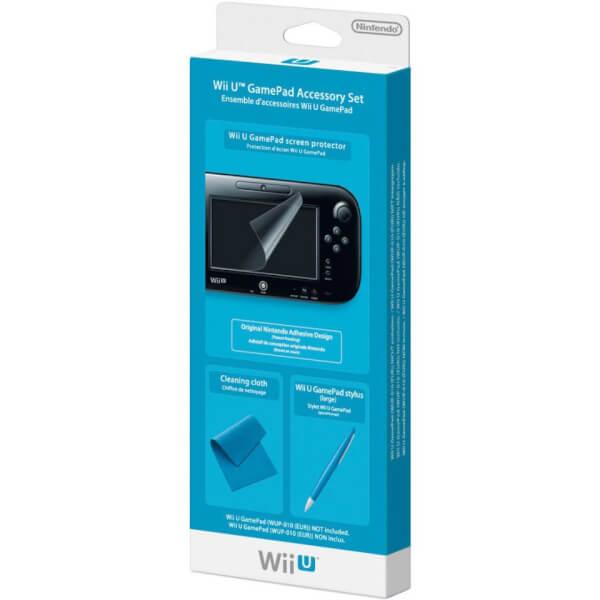 Wii U GamePad Accessory Set