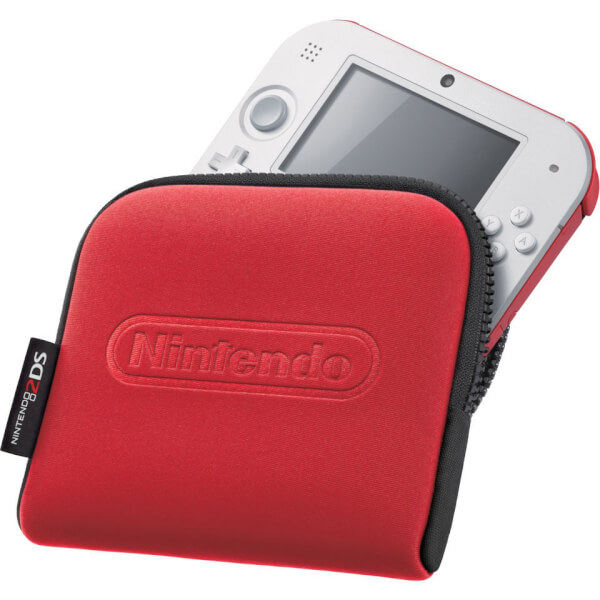 Nintendo 2DS Carrying Case - Red