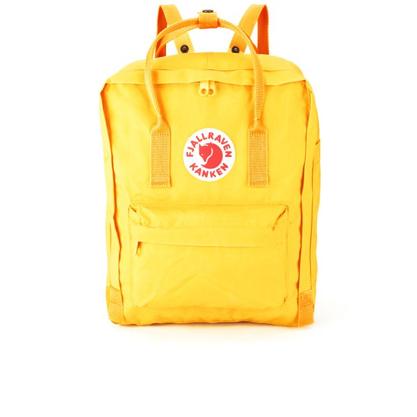 warm yellow kanken