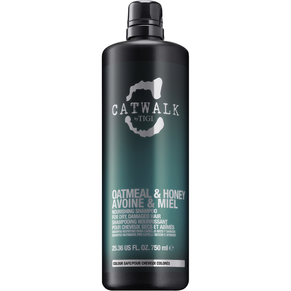 TIGI CATWALK OATMEAL & HONEY Nourishing Shampoo For Dry, Damaged Hair 750ml