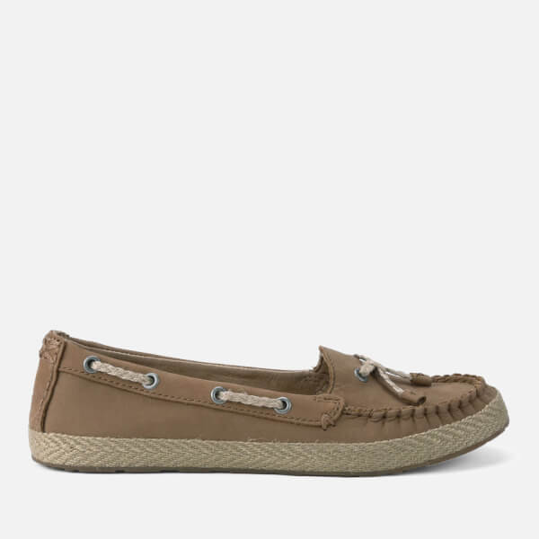 UGG Women's Chivon Leather Moccasin Shoes - Chestnut: Image 1