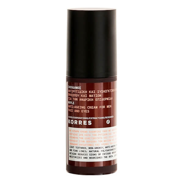 KORRES Natural Men's Maple Anti-Ageing Day Cream 50ml