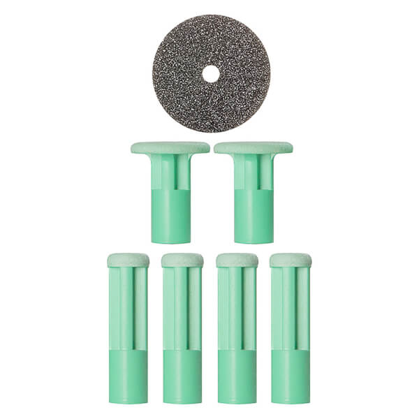 PMD Mixed Green Replacement Discs - 6Stück