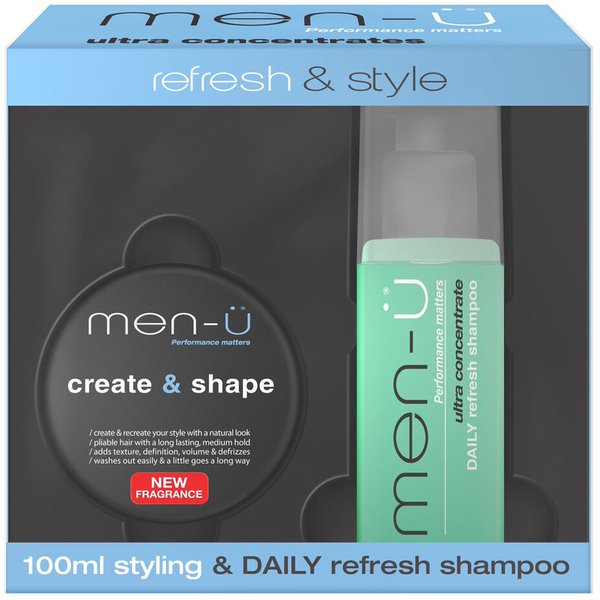 Crema men-ü Refresh and Style - Create and Shape